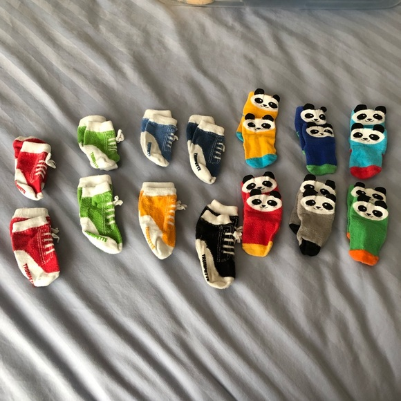 Trumpette Other - 14 pairs of Trumpette socks (0-12 month)